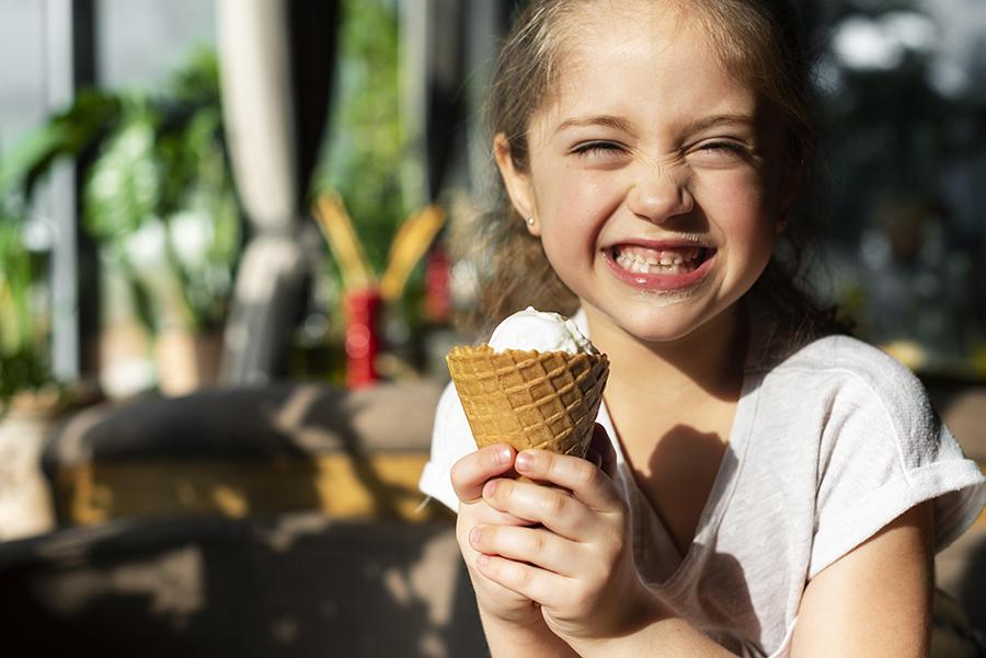 evidenza bambini denti estate